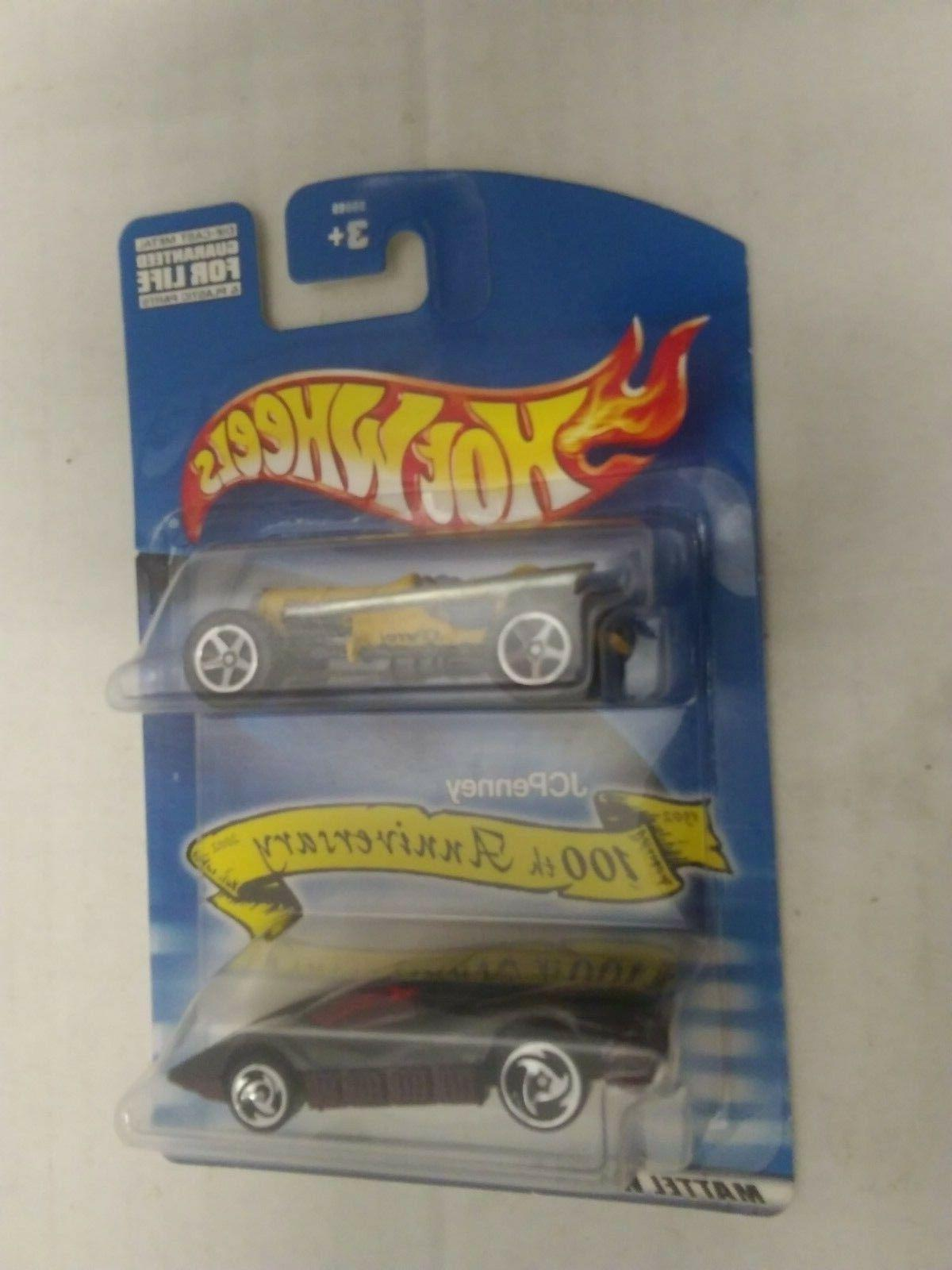 2000 jcpenney 100th anniversary 2 car pack