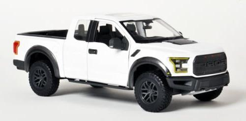 2017 raptor pickup truck white