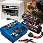 2993 Traxxas EZ-PEAK LIVE Charger with  14.8v 4S Batteries X