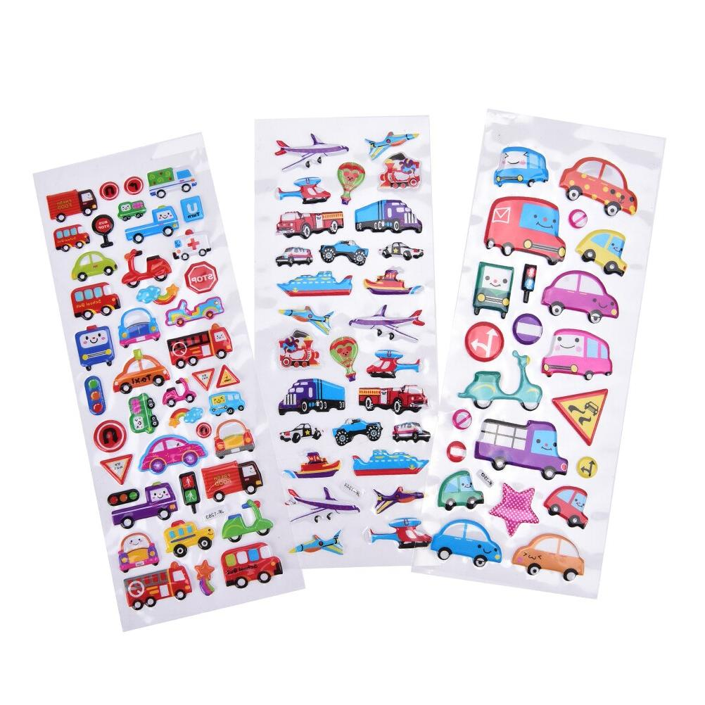 2PCS / <font><b>Transport</b></font> <font><b>Cars</b></font> Kids Girls&Boys Cartoon Bubble Decoration Gift