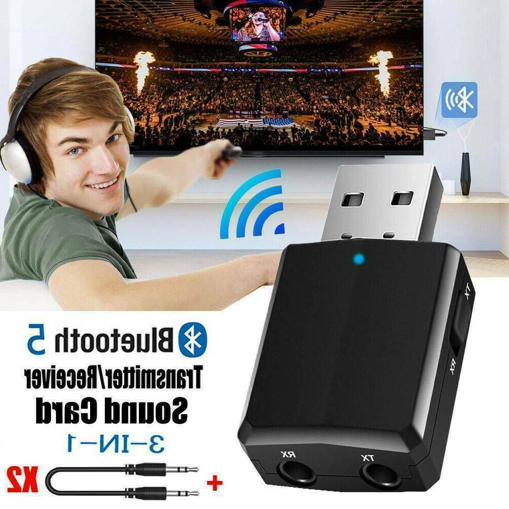 3 in USB Bluetooth 5.0 Adapter For