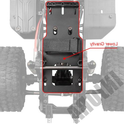 313mm RC Crawler Car Frame Chassis with wheel for Axial SCX10 II 90046