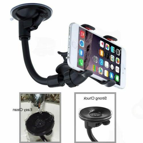 360° Windshield Cradle Mobile GPS iPhone x