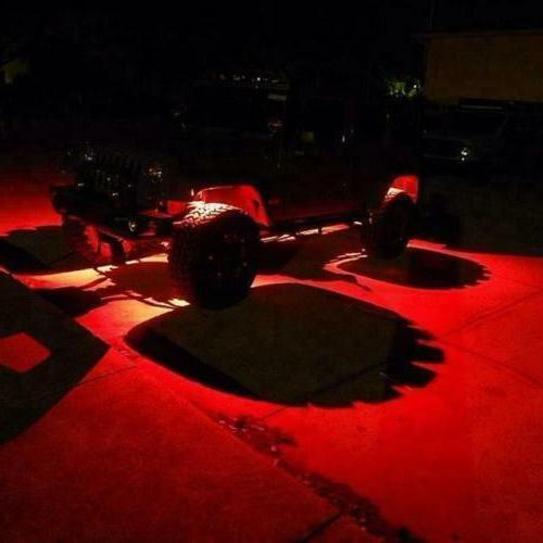 Lights, Underglow Light For Truck Red