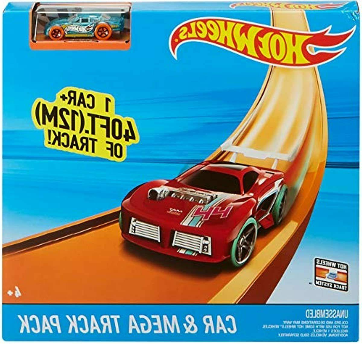 40 Hot Kids Car Stunt Track Builder Pack w/ Racing Play