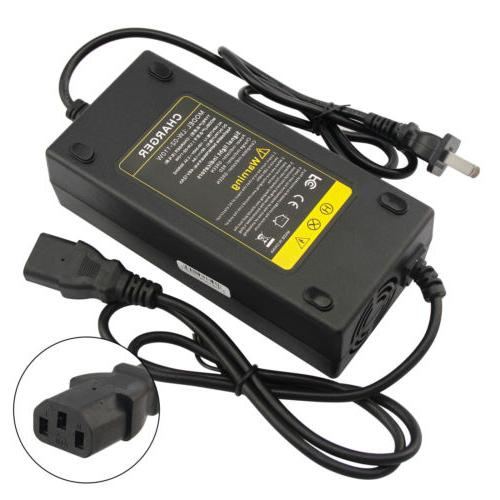 48V Volt Charger Car E-bike With Adapter Smart
