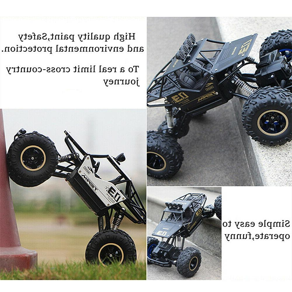 Large 2.4G RC Cars 4WD Drive High Car Kids