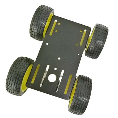 4WD Robot Chassis Kit Motor Arduino/Raspberry Pi