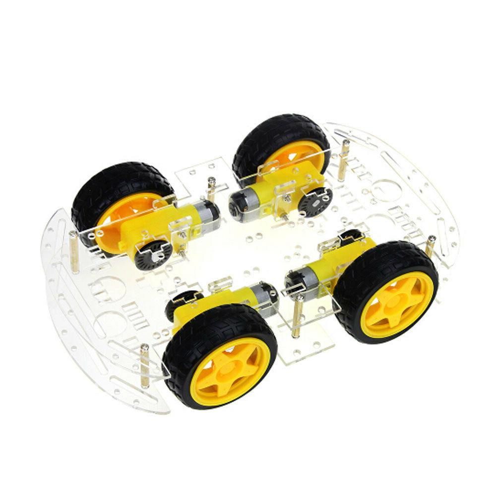 4WD Smart Robot Chassis & modules