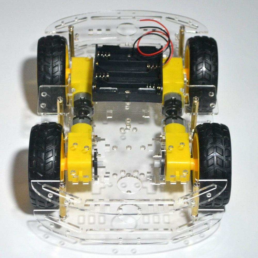 4WD Smart Robot Car Chassis kit & modules