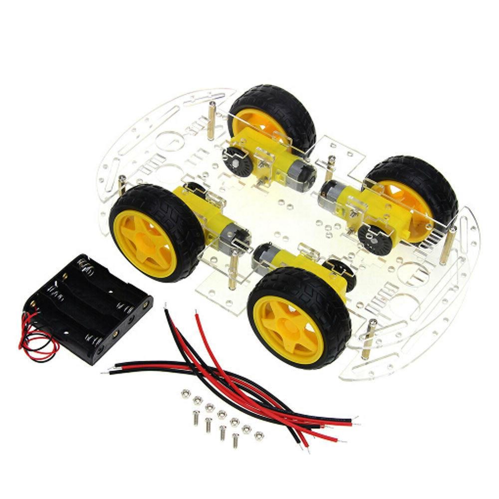 4WD Smart Robot Chassis for & 4