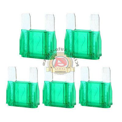 5 pack 30 amp maxi fuses large