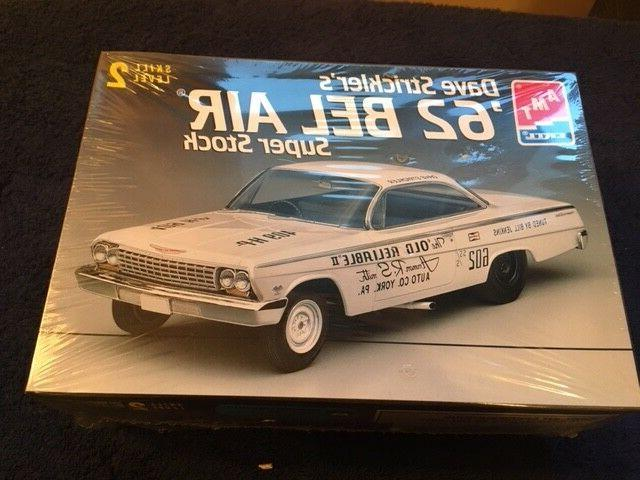 AMT 62 Bel Air Super Stock Dave Strickler's Model Kit