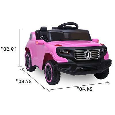 6V Electric Ride On Truck Toy to