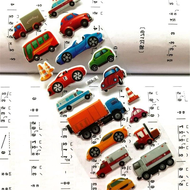 Mixed <font><b>Transport</b></font> <font><b>Cars</b></font> Children Kids Girls&Boys Scrapbook