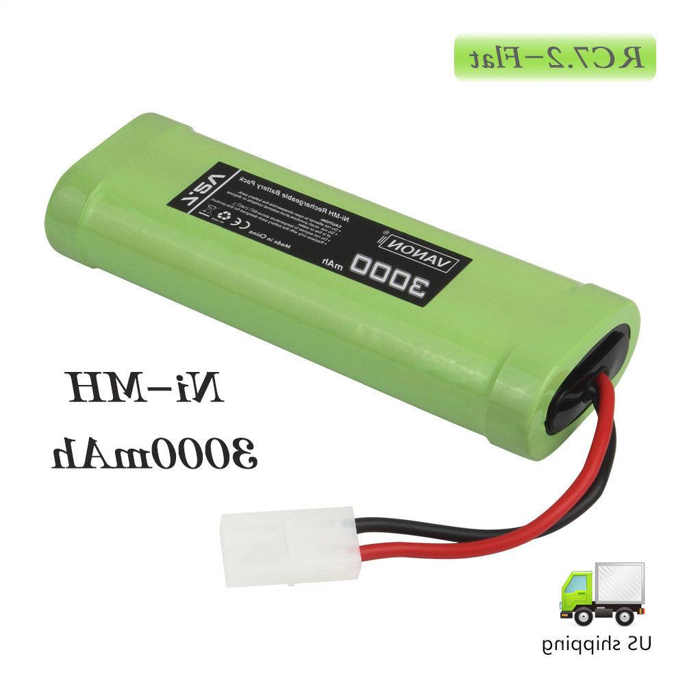 7.2V RC Cars Battery NiMH For Traxxas LOSI Kyosho