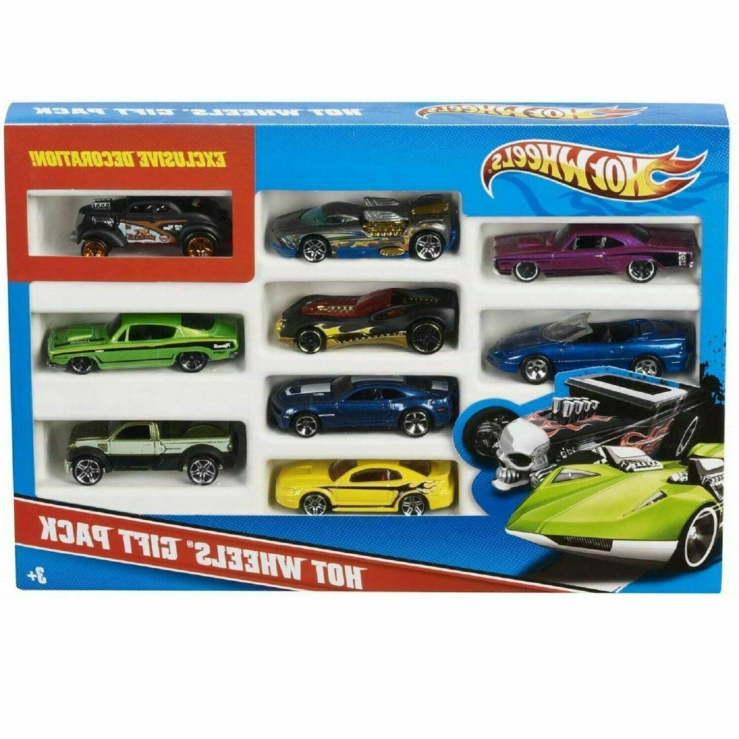 10 Wheels For Track Kid Xmas Gift Race Car Toys