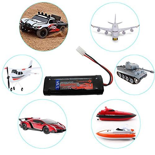 GEILIENERGY High Power NiMH Pack Low-self RC Rc Trucks,Traxxas With