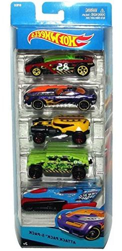Hot Wheels City Attack Pack 5-Pack BFB32 by Mattel