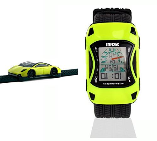 Kids Watches Boys Waterproof Sports Digital LED Wristwatches