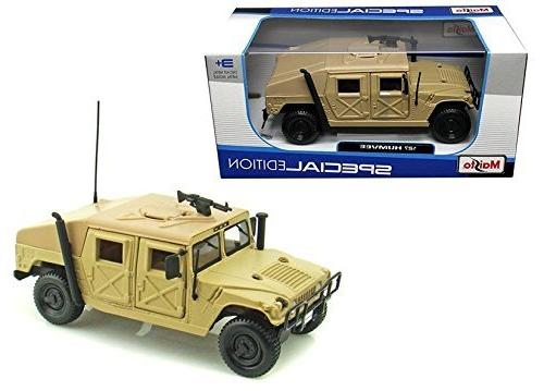 New 1:27 W/B SPECIAL EDITION - BEIGE BROWN Hummer Military H
