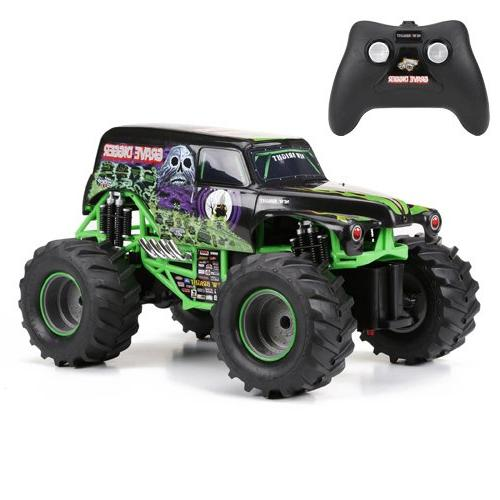New Bright F/F Monster Jam Grave Digger RC Car