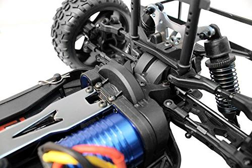 Redcat Racing Blackout PRO 1/10 Electric Short with Electronics Red