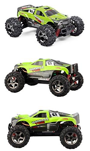 TOZO C1142 RC Sommon 30Mph Cars1: RTR Racing Power W/2.4G Remote Cross Country Green