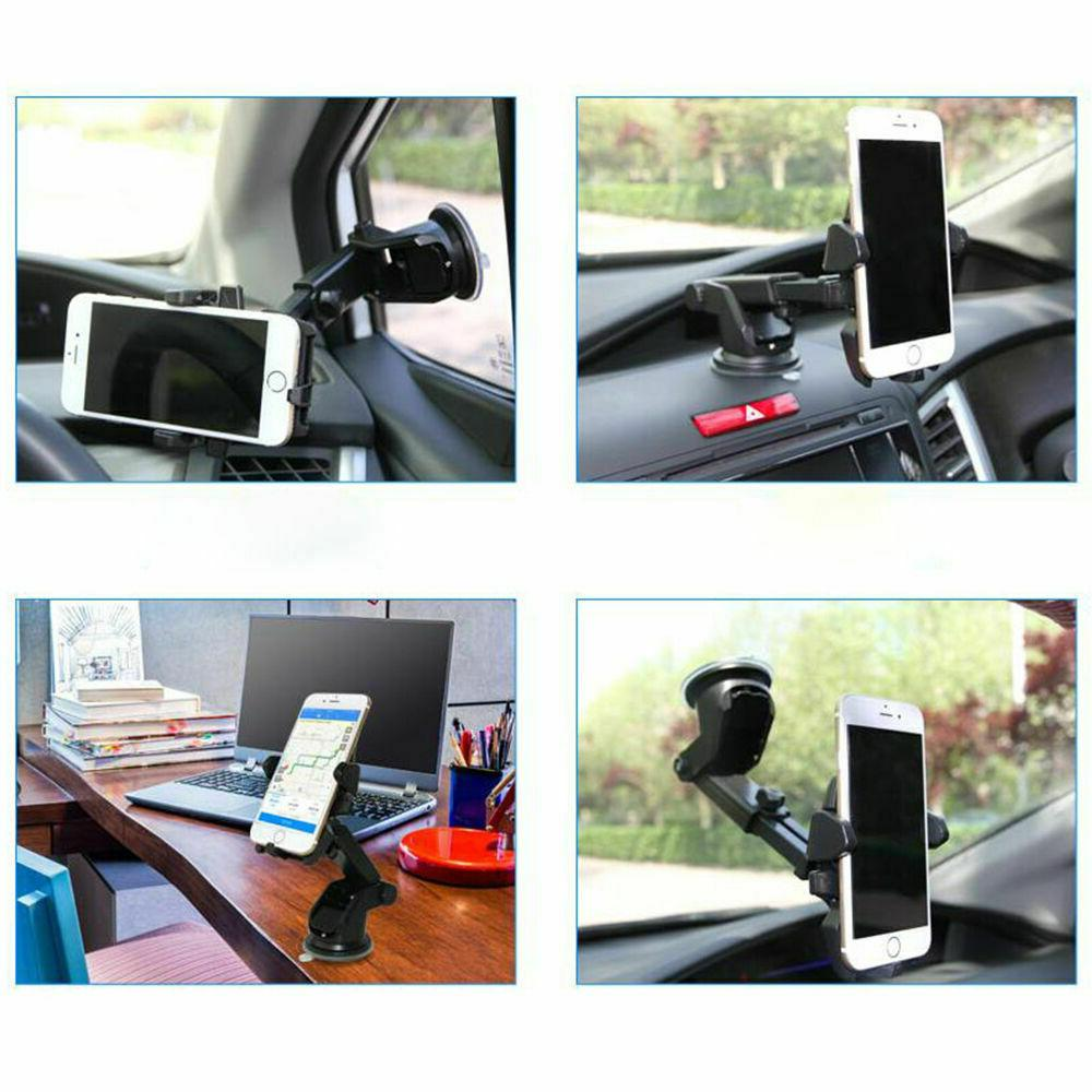 360° Mount Car Windshield Stand Mobile Cell Samsung