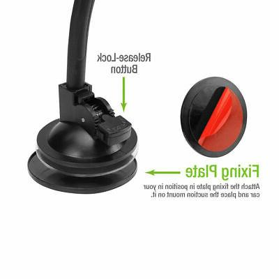 Universal Windshield Dashboard Suction Holder Stand for Phone