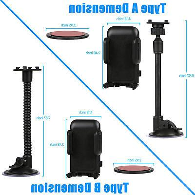 Universal Suction Mount Holder Stand for Cell Phone