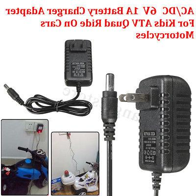 ac dc battery charger adapter 6v1a