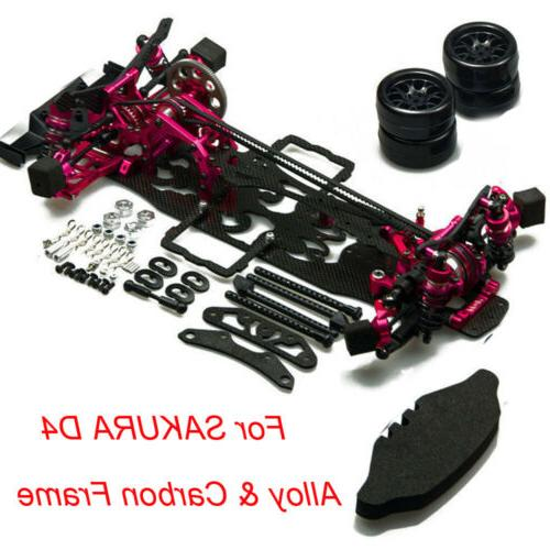 alloy and carbon frame kit w wheel