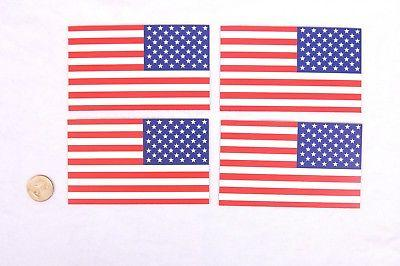 American Flag Pack 3x5 Decals Perfect for or Fridge