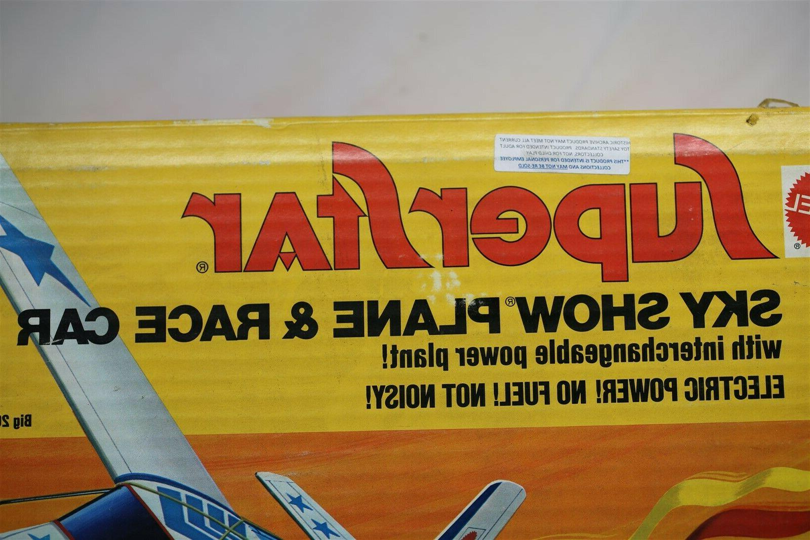 MATTEL ARCHIVES RARE 1973 PLANE AND RACE SEALED