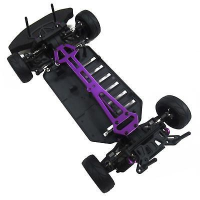 Assembled 4WD Racing Chassis Frame for 1/10 94123