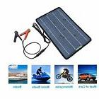 12V 10W Auto Solar Battery Charger Maintainer Marine Solar P