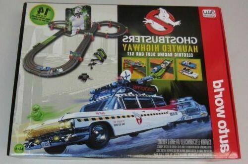 Autoworld RS317 HO Ghostbusters Haunted Highway Slot Car 14'