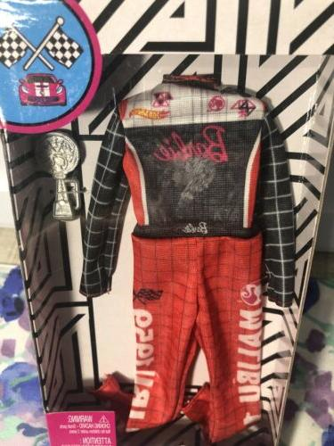 barbie careers fashion race car driver outfit