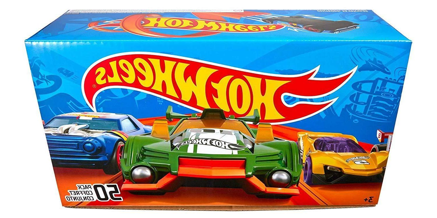 Hot Wheels Car 50-Pack Toys For Boys