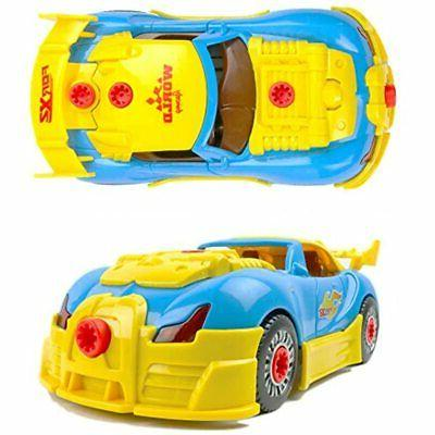 Build Your Car Kids Gift, Yellow