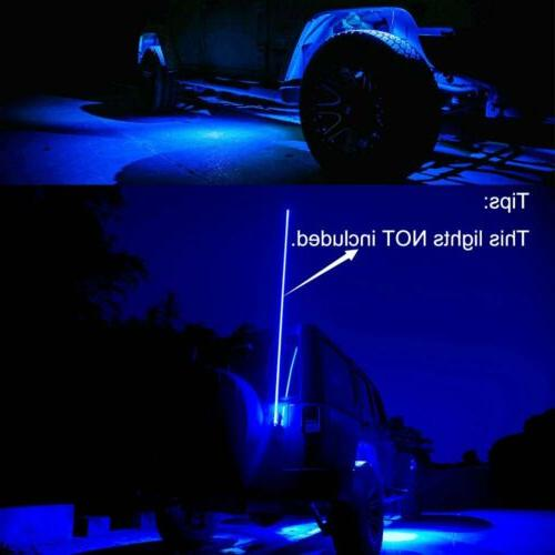 Blue 4 Lights Off Road Truck Car ATV Under X4