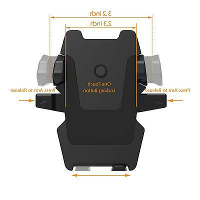 360° Car Stand Air Cradle For iPhone Mobile Cell Phone