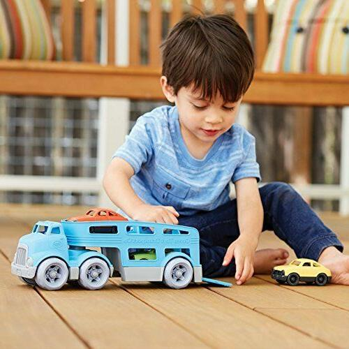 Car Carrier Toy, Blue,