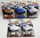 Hot Wheels Car Culture Cars and Donuts Set of 5 Real Rider C