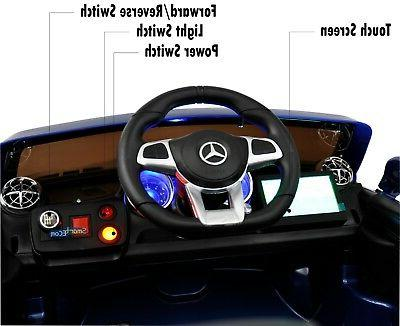 Car Ride Licensed SL65 MP4 Touch Screen Horn Blue