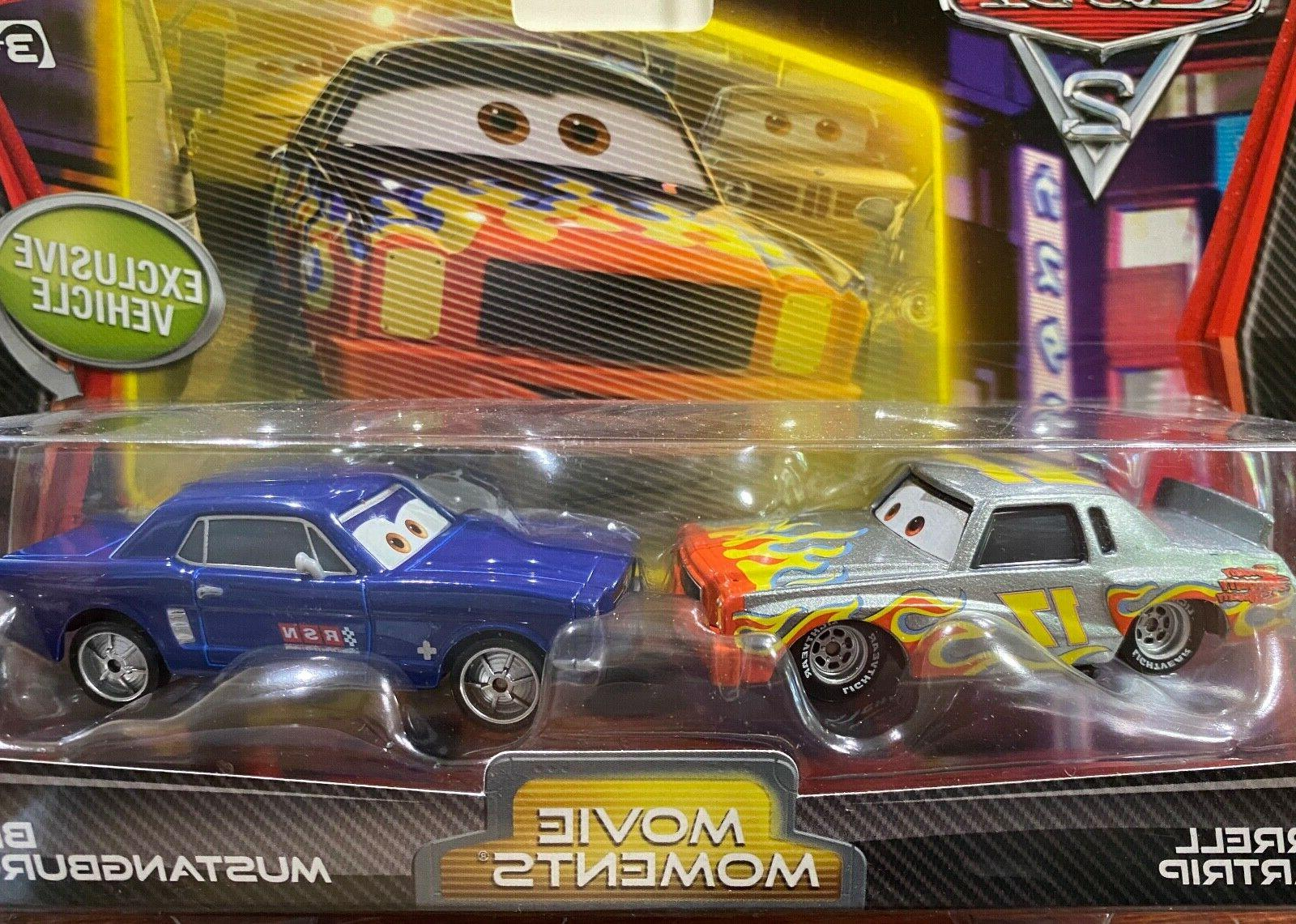 cars 2 pack darrell cartrip and brent