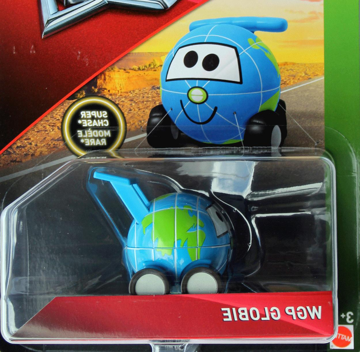 DISNEY DELUXE WGP GLOBIE SUPER CHASE IMPERFECT PACKAGE