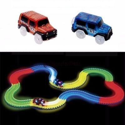 cars for magic tracks glow in