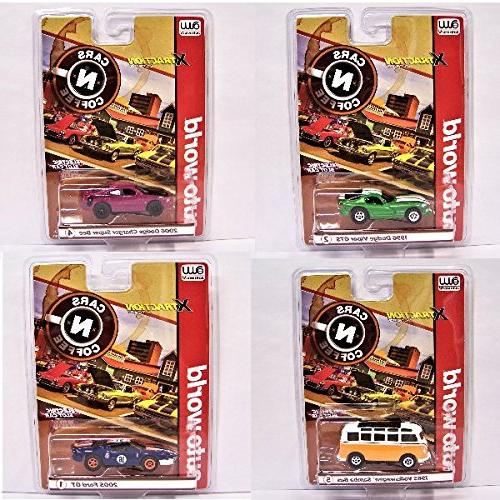 Auto World N Coffee 4A slot car Xtraction